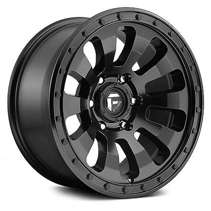 Amazon Com Fuel D630 Tactic 18x9 6x135 1mm Matte Black Wheel Rim