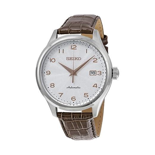 7e96c2b4fff7 Reloj Seiko Neo Classic Srp705k1 Hombre Blanco  Amazon.es  Relojes