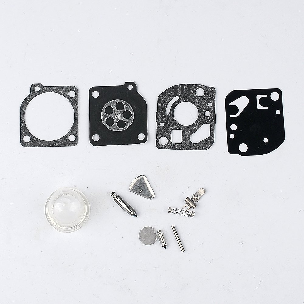 Carburetor Repair Kits Gaskets Diaphragm For Zama Rb Ryobi Weed Eater Fuel Line Diagram Further Craftsman 32cc 47 Fits Poulan Weedeater Trimmers Blowers Garden Outdoor