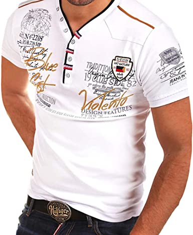 Fannyfuny camiseta Hombre Verano Polo Camisetas Casuales Verano de ...