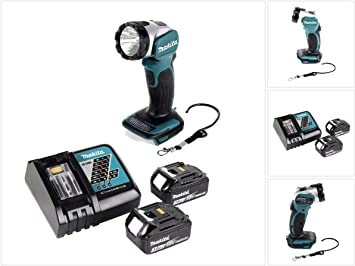MAKITA Akku-Lampe DML 802 LED 14,4-18,0 Volt ohne Akku und Ladegerät