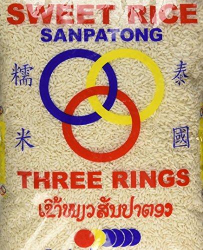 - (10 Lbs) Thai Sticky Rice (Sweet Rice)
