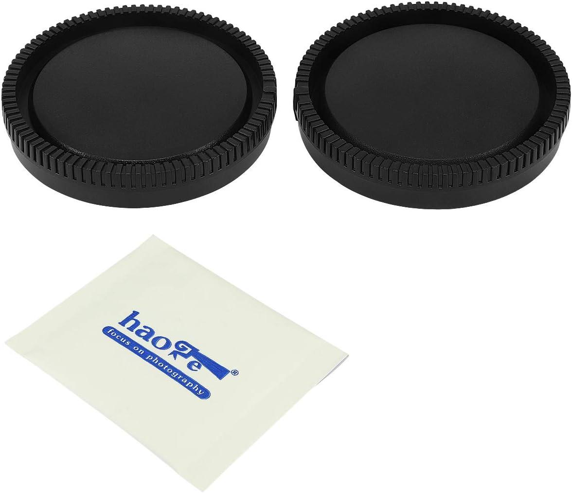 Haoge Kamera Objektivdeckel Und Objektivdeckel Set Für Sony E Nex Mount Camera Lens Wie A5100 A6000