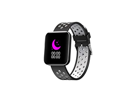 Amazon.com: Men Women Smart Watch Color Waterproof Fitness ...