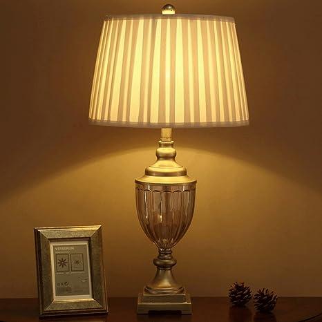 Buona Cosa Lampada Da Tavolo Lampada Da Letto Antica Lampada Da Tavolo Da Notte Lampada Da Tavolo Lampada Da Tavolo In Stile Europeo Decorato Amazon It Illuminazione