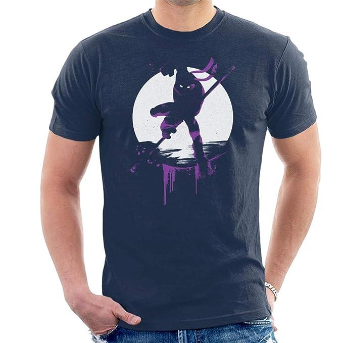 Teenage Mutant Ninja Turtles Donatello Silhouette Mens T-Shirt