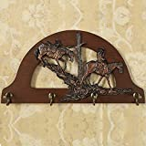 American Coat Rack / Solid Wood Hook / Continental Entrance Living Room Wall Hanging Hanger / Retro Creative Simple Clothes Hook / American Furniture Walnut
