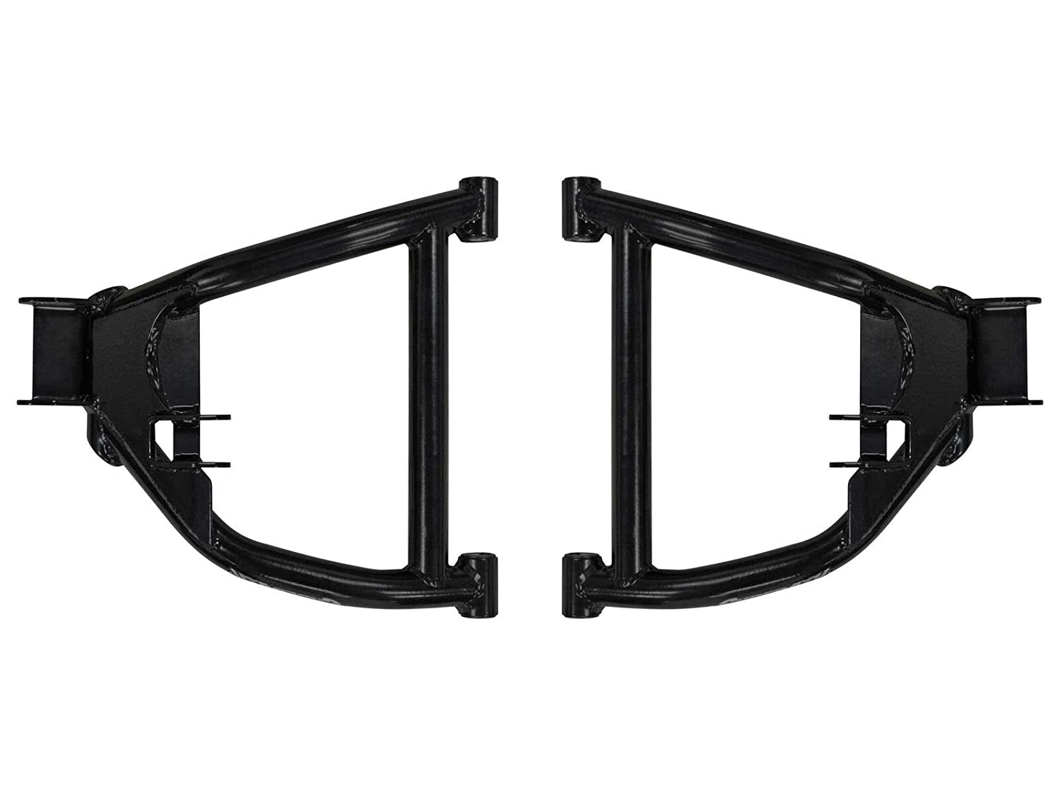 SuperATV High Clearance Rear Lower A-Arms for Yamaha Viking//EPS//Ranch Edition//VI See Fitment Black