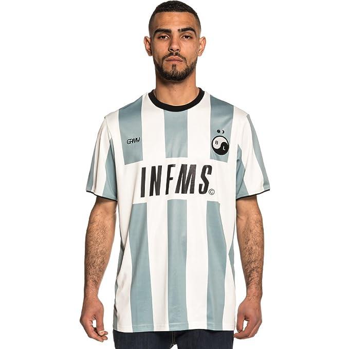 Grimey Camiseta Half of IT Soccer tee SS18 Grey: Amazon.es: Ropa y accesorios