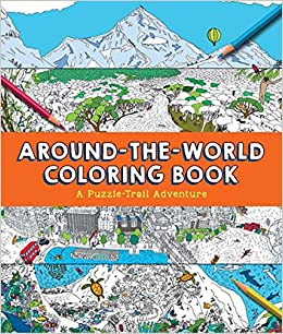 Around-the-World Coloring Book: Sterling Children\'s: 9781454922216 ...