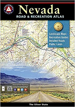 Nevada Road And Recreation Atlas Benchmark National Geographic - Road map of nevada