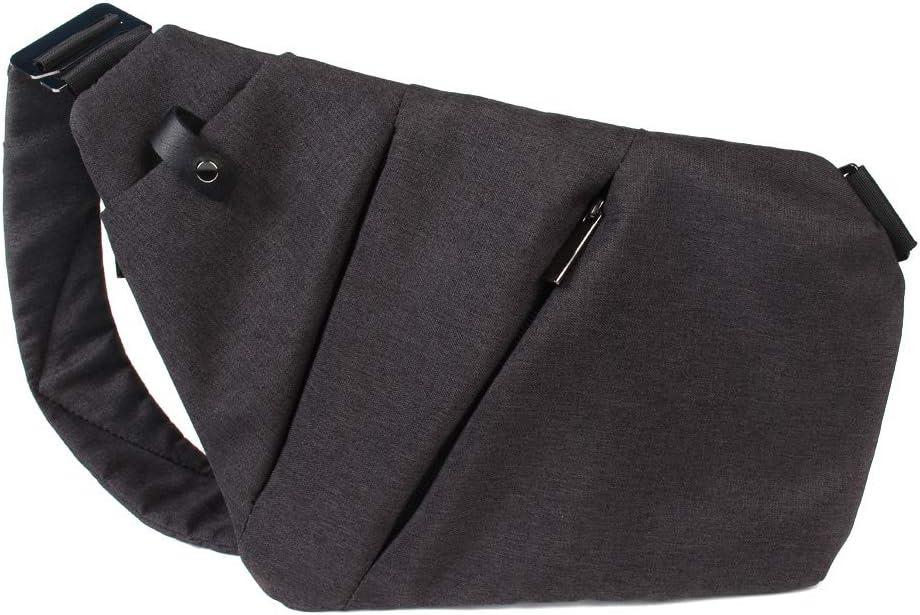 Harwls Men Crossbody Sling Bag Shoulder Chest Back Pack Anti Theft Sash Bags