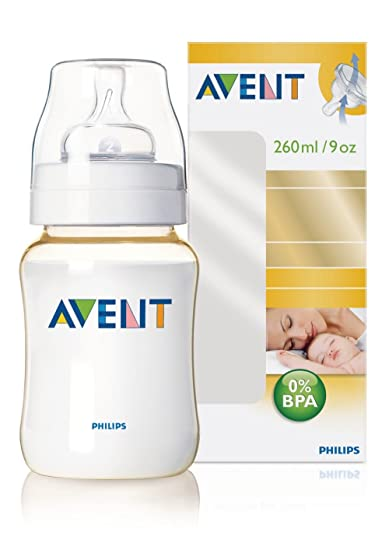 Amazon.com: Philips AVENT 9 Onza/260 ml Biberón (Single Pack ...