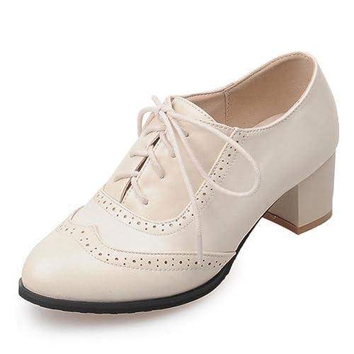 DoraTasia - Zapatos de Vestir para Mujer: Amazon.es: Zapatos y complementos