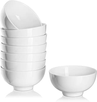 8-Pack Dowan 11.8oz Dessert/Snack Bowl Set