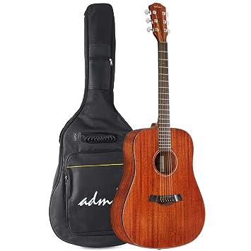 Amazon Com Adm Beginner Acoustic Guitar 41 Inch Full Size