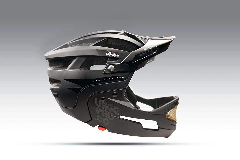 Urge Gringo Sierra Adult Unisex Full Face MTB Helmet S//M Black