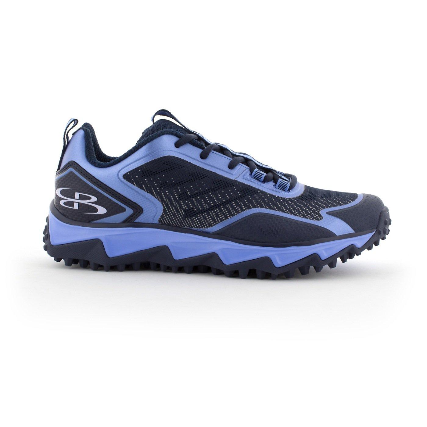 BoombahメンズBerzerk Turf Shoes – 13色オプション – 複数のサイズ B076B47JFC 13|Navy/Columbia Navy/Columbia 13