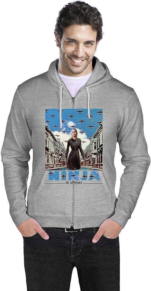 Die Antwoord Enter The Ninja Mens Zipper Hoodie XX-Large ...