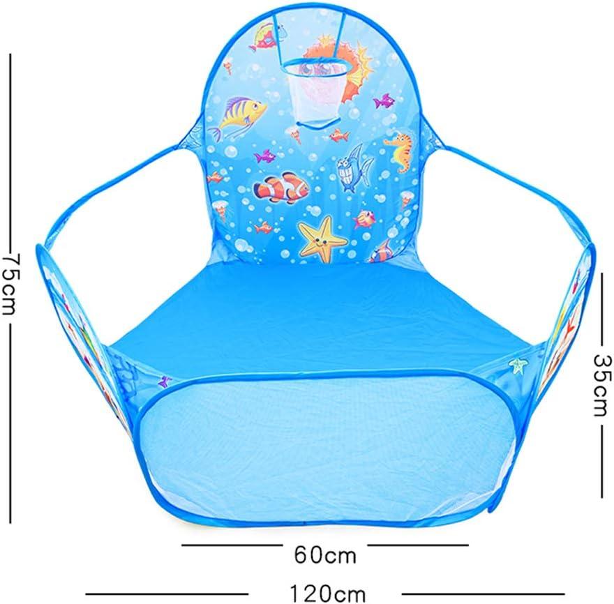 Blau Faltbare Baby Zaun Kinder Laufstall Haushalt Spielzeug Haus Kinder Activity Center