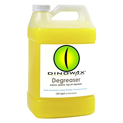 Dinowax Degreaser | Yellow Degreaser for Wheels & Tires | Professional-Grade (128 Oz): Automotive