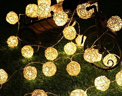 20 led solare luci illuminazione da esterno unique giardino