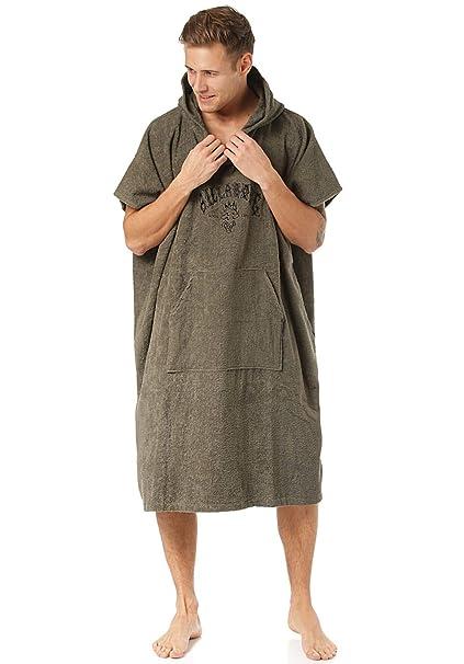 38d66ce681 Amazon.com : Billabong Mens Hooded Changing Robe/Poncho Black N4BR01 ...