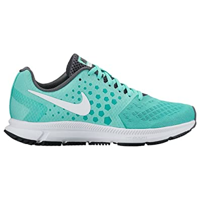 New Nike Women's Air Zoom Span Running Shoe Turquoise/White 6