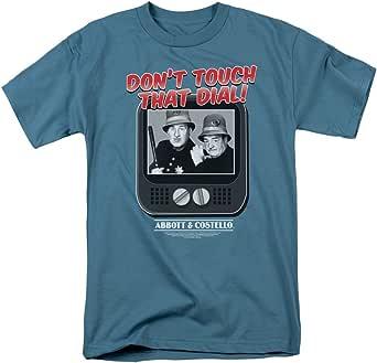 Trevco Men's Abbott and Costello Short Sleeve T-Shirt