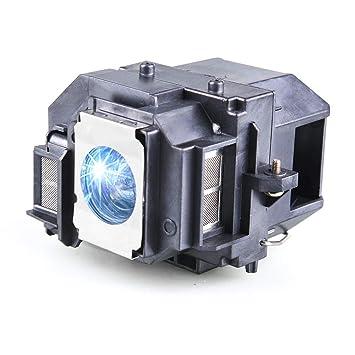 Huaute V13h010l58 / Elplp58 Lámpara de Repuesto para proyector con ...