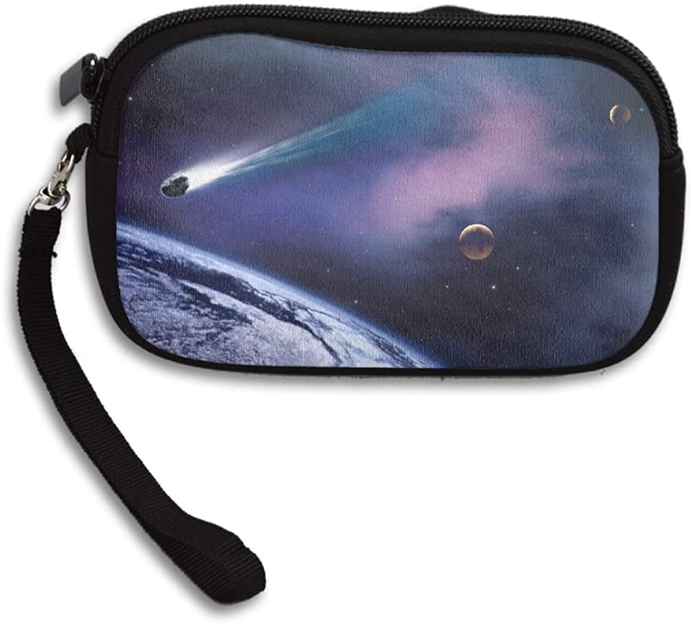 Cool Space Exploration Deluxe Printing Small Purse Portable Receiving Bag