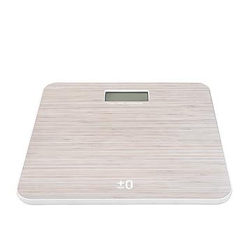 Scales PHTW Balanzas Electrónicas Escala Corporal Vidrio Templado ABS LCD Peso Ligero Slim Tamaño Grande Hogar Adultos Escala De Obesidad Báscula 150kg: ...