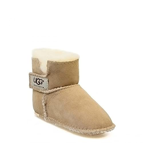 45540ac6b88a UGG® Australia Infant Erin Toddler Kids Sand Beige Suede Sheepskin High  Boots 5202 (Medium)  Amazon.co.uk  Shoes   Bags