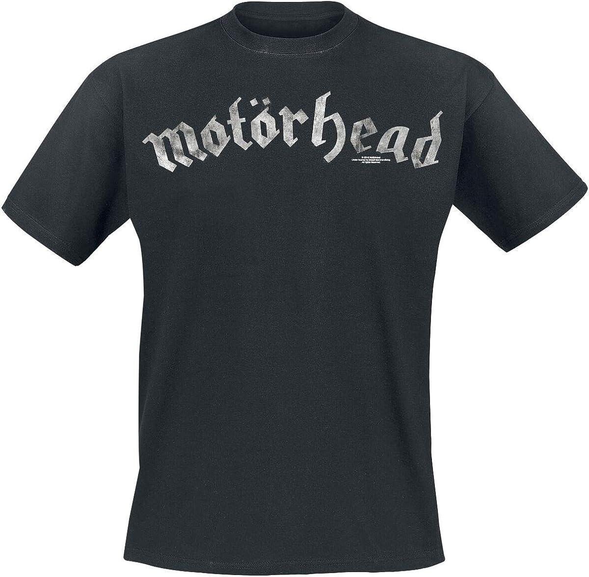 Motörhead Logo Camiseta Negro