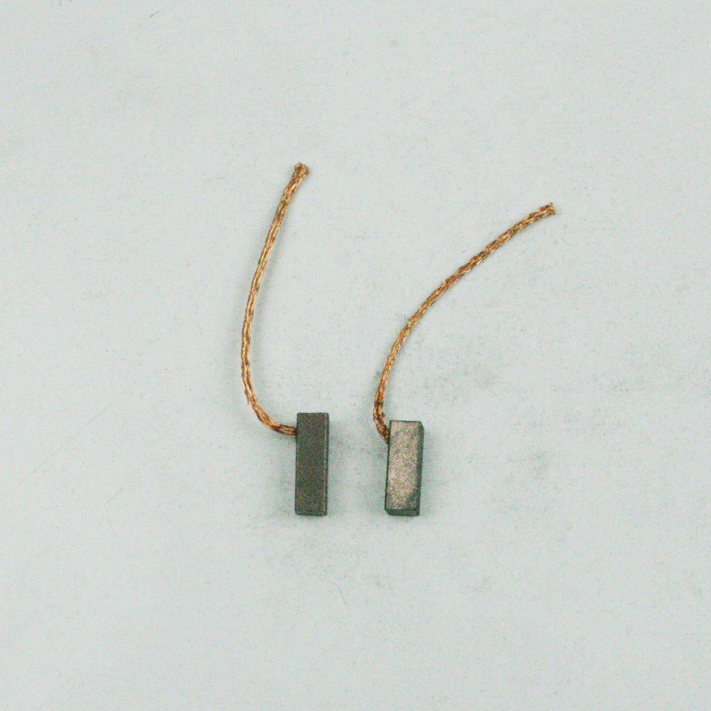 Satz Kohlebü rsten Bronzekohle 4 x 4 x 12 mm fü r Lü ftermotor Klimaanlagenmotor Dritthersteller