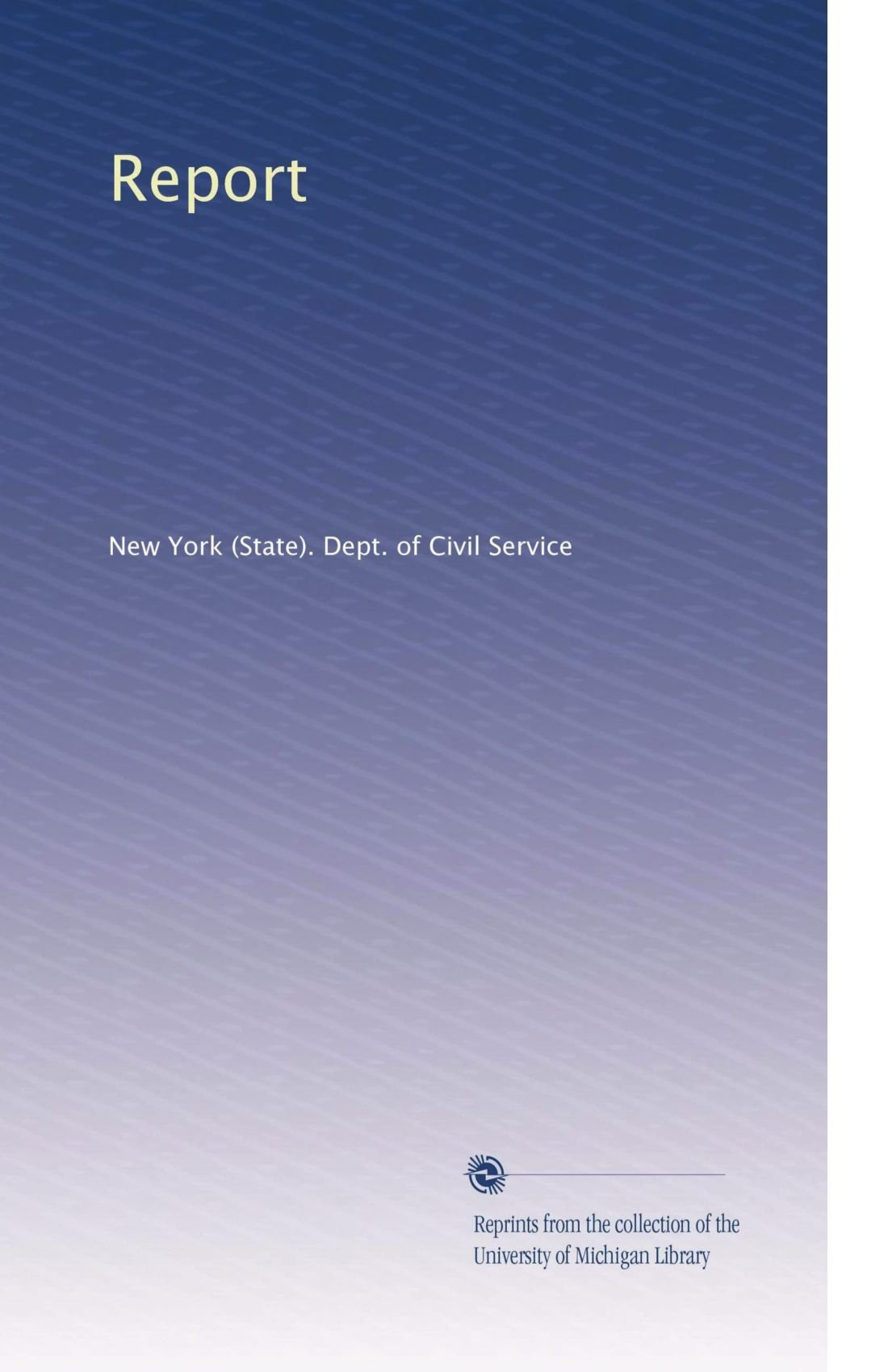 Download Report (Volume 20) pdf epub