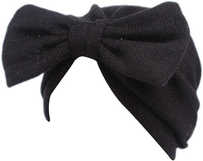 Khaki Hatop Children Baby Girls Boho Hat Beanie Scarf Turban Head Wrap Cap
