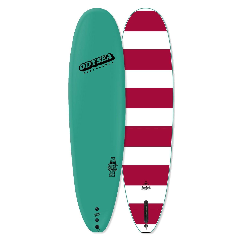Catch Surf Odysea Plank Single Fin LongboardソフトトップSurfboard ターコイズ 6'0\