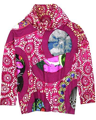 Desigual Girls' Pullover Henrick, Sizes 5-14 (9/10) Purple