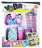Volta Girl Bike Accessories - Royal Regalia Cut-Out Gloves with Wristband and More - 10 Pieces - Ages 3 and Up