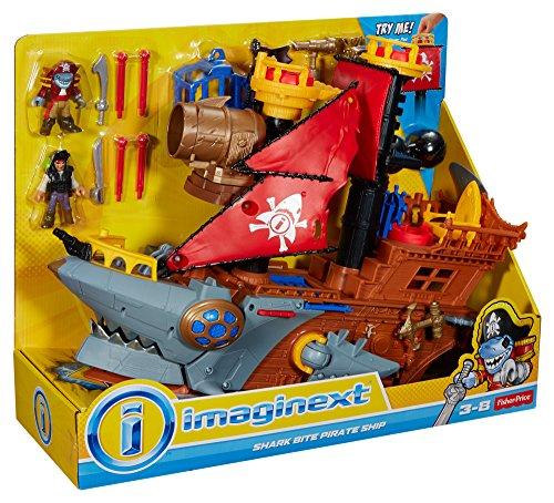 Fisher-Price Imaginext Shark Bite Pirate Ship