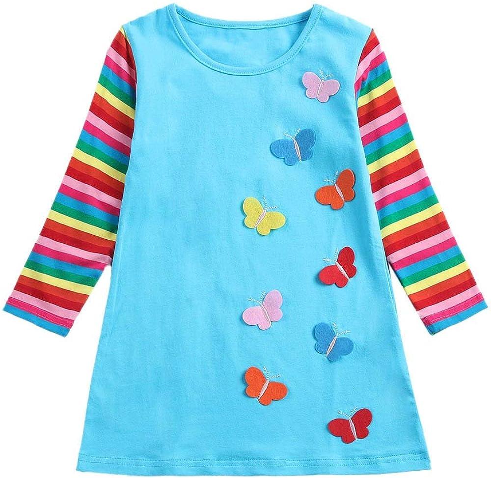 JUTOO 2019 Niños pequeños Bebés bebés Sólido con Pliegues Fruncidos Princesa Vestidos Ropa