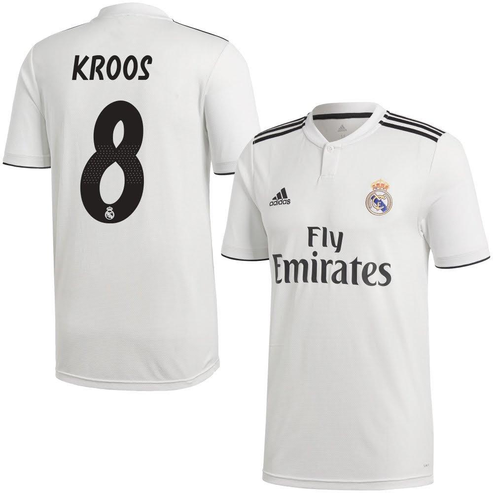 Real Madrid Home Trikot 2018 2019 + Kroos 8