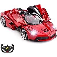 RASTAR RC Car | 1:14 Ferrari LaFerrari Remote Control Car, RC Drift Car, Red