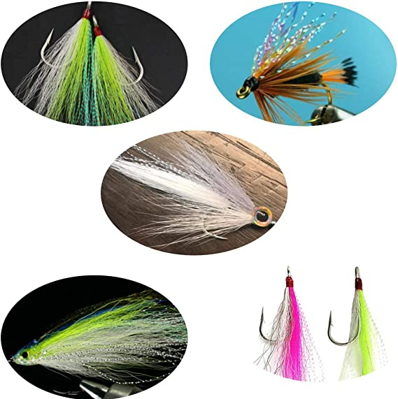 Lureflash Mother of Pearl and Translucent Fritz 6 Colours for Fly Tying