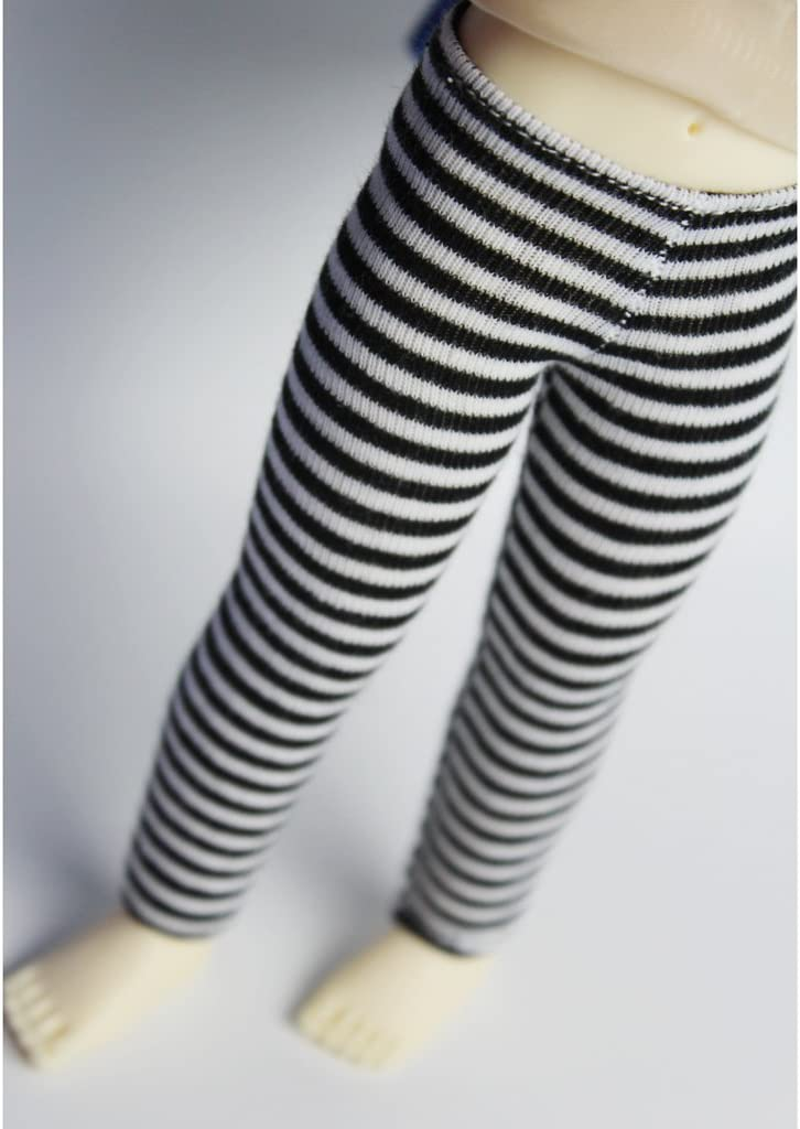 Black Gray Generic 2pcs Dolls Clothing Leggings Trousers Stocking Winter Outfit for Blythe BJD Dolls 12inch Dolls Accessories