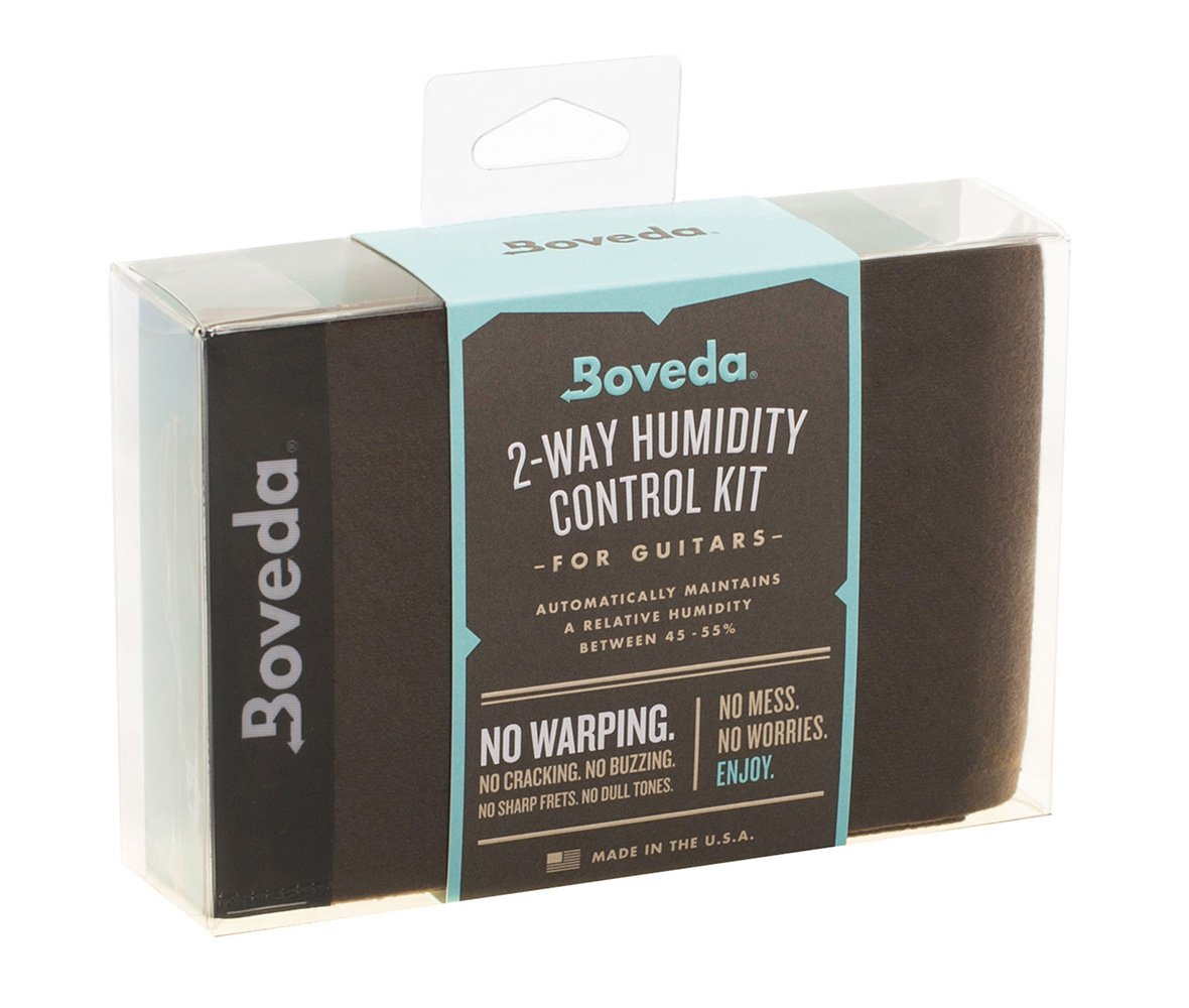 Boveda 49-Percent RH Two-Way Humidity Control for Guitars and Wood Instruments - Starter Kit