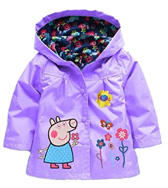 7f9a53f77 Amazon.com  EGELEXY Cute Flower Baby Girls Kids Coat Jacket Coat ...