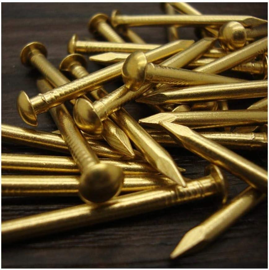 30 St/ück-21 * 2mm Trommeln/ägel reine Kupfern/ägel runde kleine Kupfern/ägel Messingn/ägel