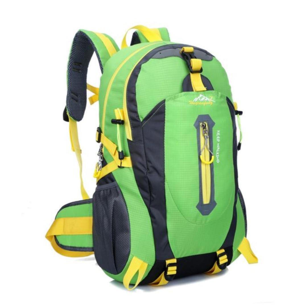 sinwo 40lアウトドアハイキングキャンプ防水ナイロン旅行リュックサックバックパックバッグ防水バックパックアウトドアバックパックアウトドアスポーツバックパック ブラック B073DYLMY1